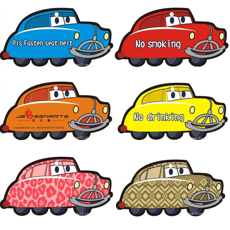paper air freshener hanging car car perfume card