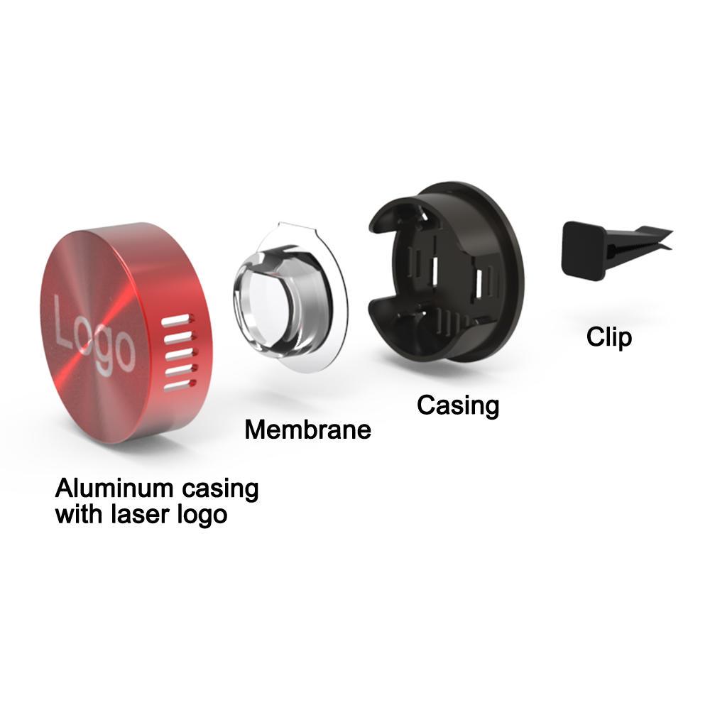 scented vent car perfume diffuser vent clip aluminum alloy carfreshener