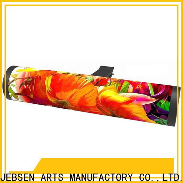JEBSEN ARTS Custom yellow car air freshener factory for gift