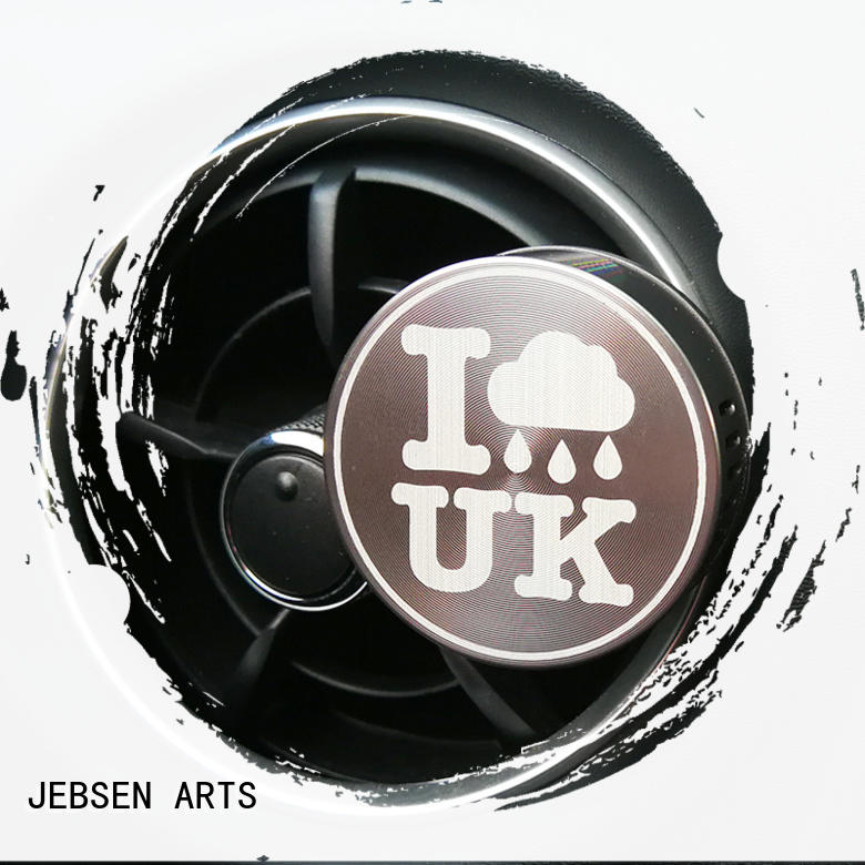 JEBSEN ARTS metal air freshener Suppliers for car