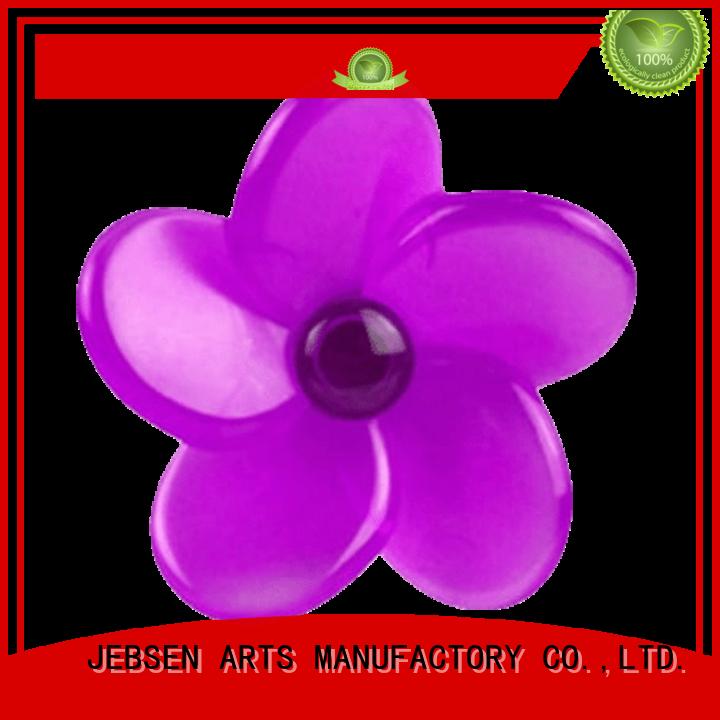 Custom flower shape vent clip air freshener JEBSEN ARTS liquid