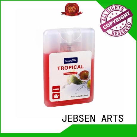 JEBSEN ARTS car air freshener glass bottle factory for hotel