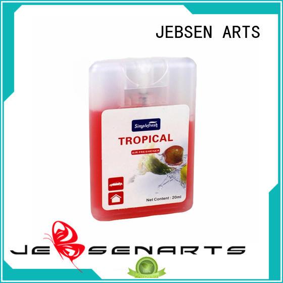 Custom freshener mini auto air freshener JEBSEN ARTS perfume