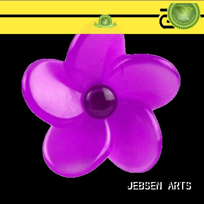 JEBSENARTS Plastic Clip Car Vent Air Freshener Flower Shape Auto Vent Perfume