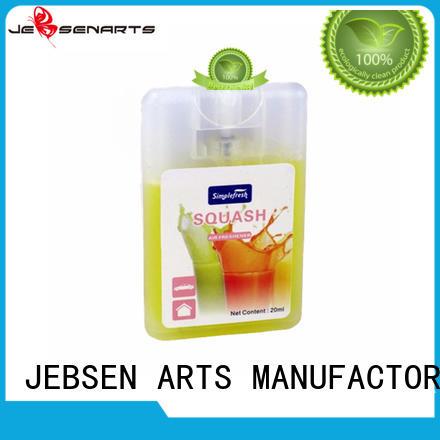 quality card pump car perfume spray JEBSEN ARTS Brand