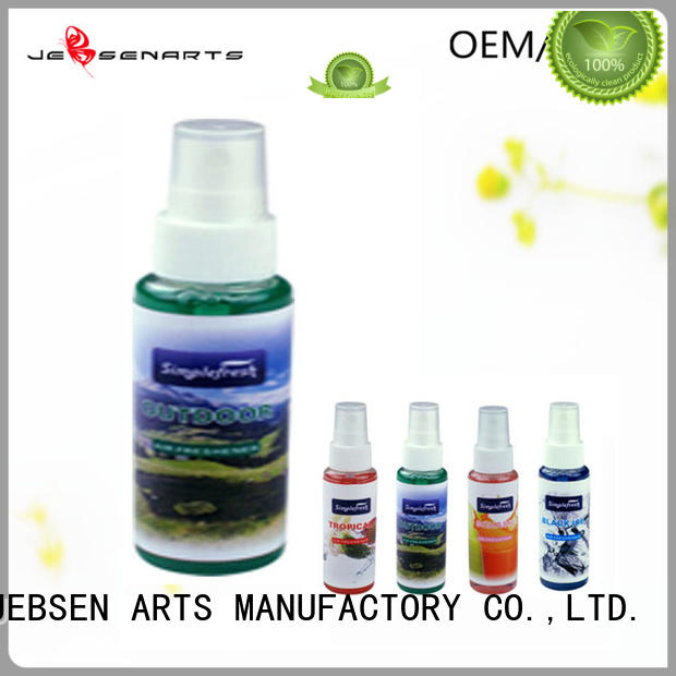 mini sanis car air freshener spray card JEBSEN ARTS company