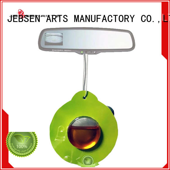 JEBSEN ARTS aroma long lasting car air freshener holder for car