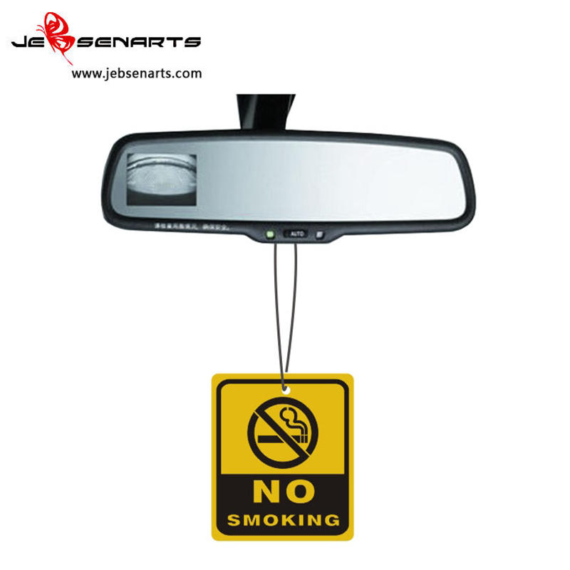 Natural Car air freshener custom Paper car perfume Paper air freshener for car P01-1