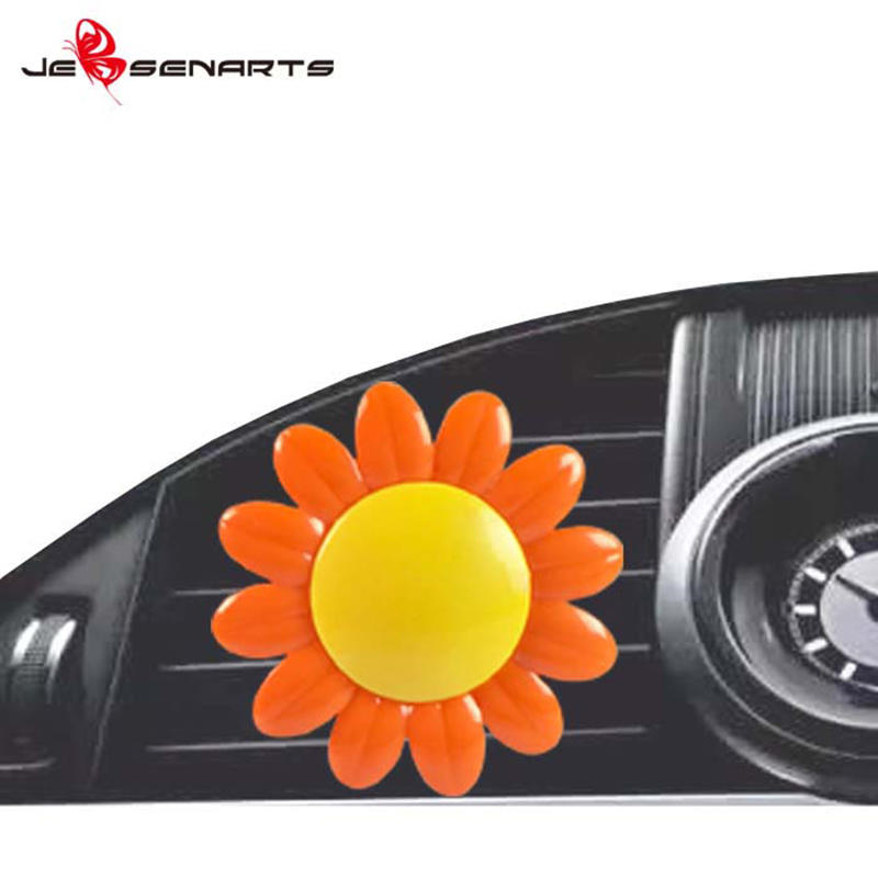 JEBSEN ARTS sunflower car vent air freshener ambientador for dashboard