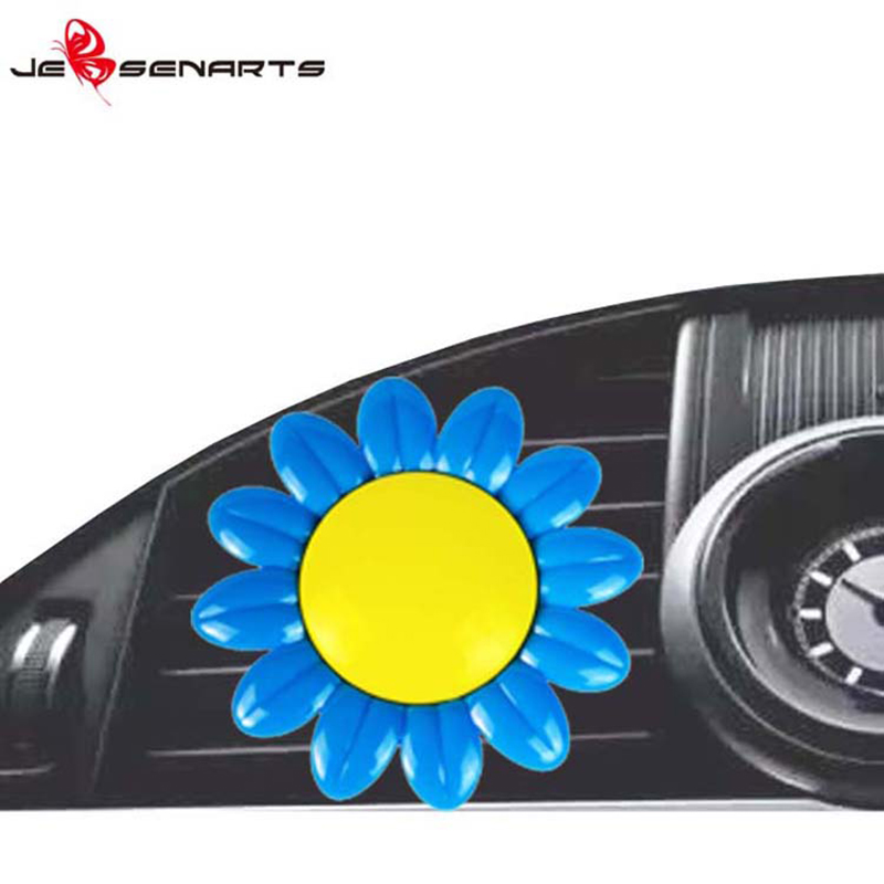 JEBSEN ARTS sunflower car vent air freshener ambientador for dashboard-6