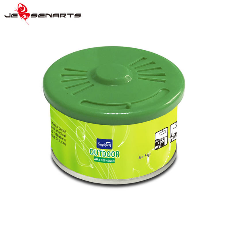 New car smell perfume room wooden air freshener organic car air freshener can OR03