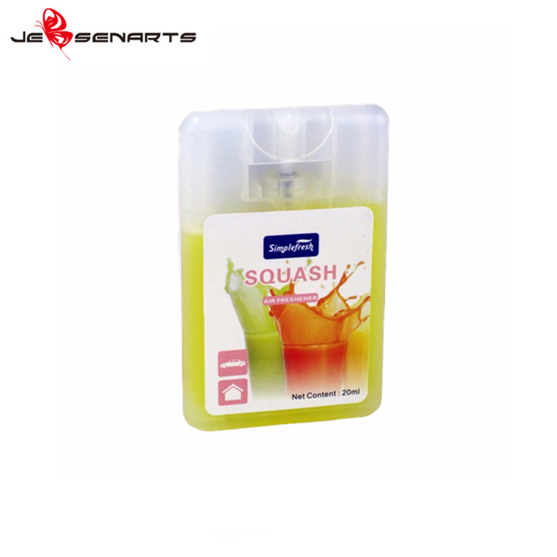 card shape auto air freshener spray Suppliers for restroom-5