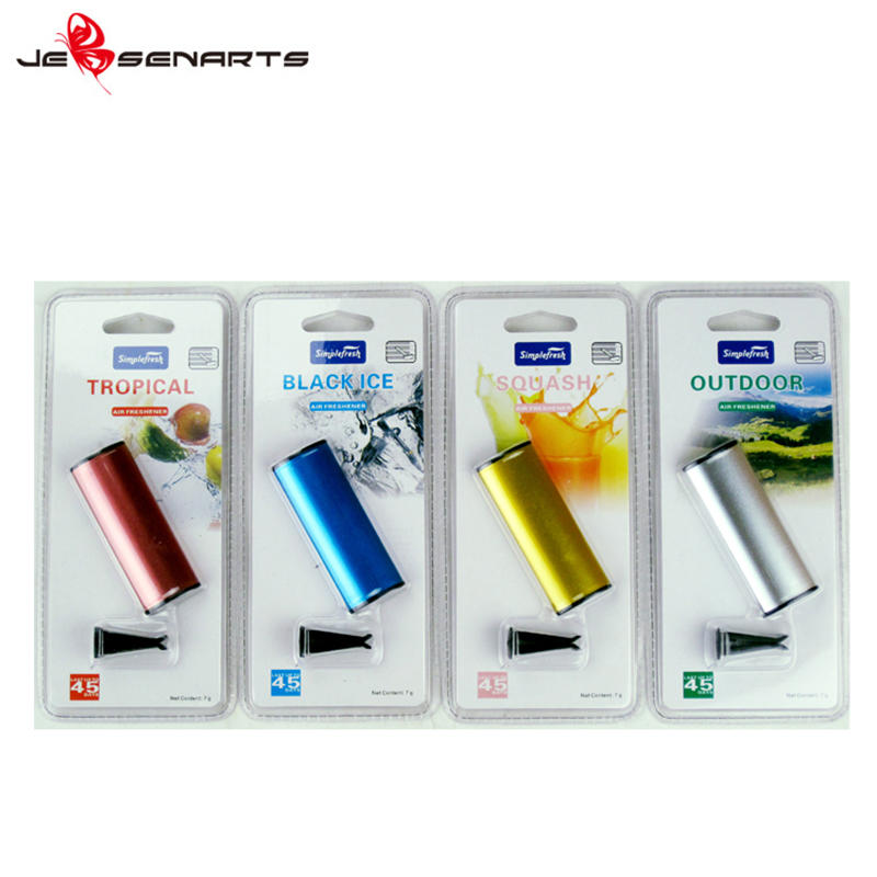 Promotional customised scented air freshener car perfume diffuser car vent clips air freshener V05