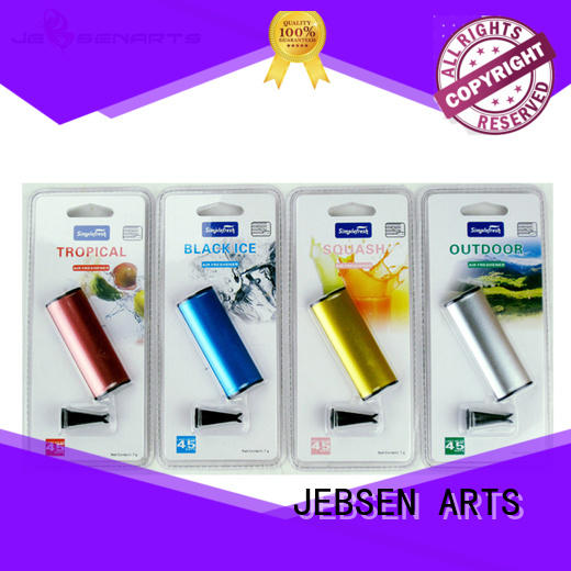 JEBSEN ARTS Brand scented air alloy luxury car vent air freshener