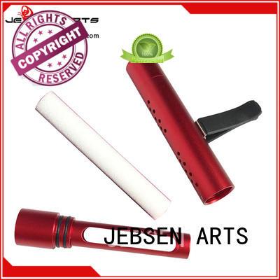 Luxury Aluminum Alloy Car Air Conditioner Perfume Freshener Sticks with air freshener wick Fragrance Car Vent Clips Freshener