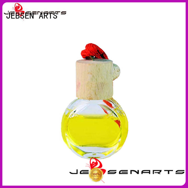 JEBSEN ARTS smell hanging car perfume bottle good selling for restaurant