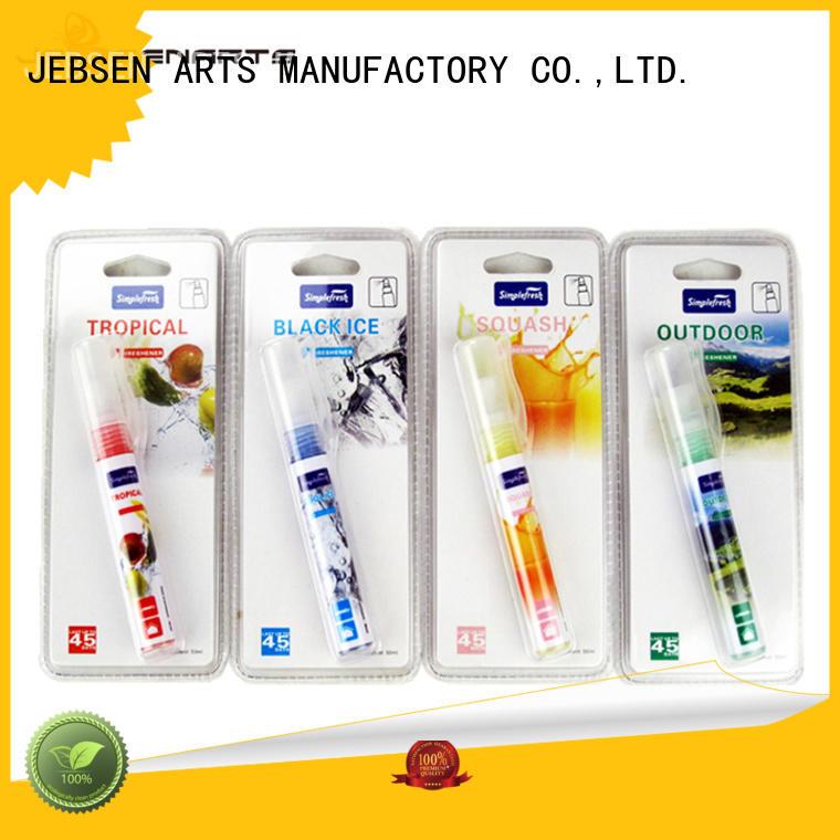 JEBSEN ARTS unscented auto air freshener spray supplier for office