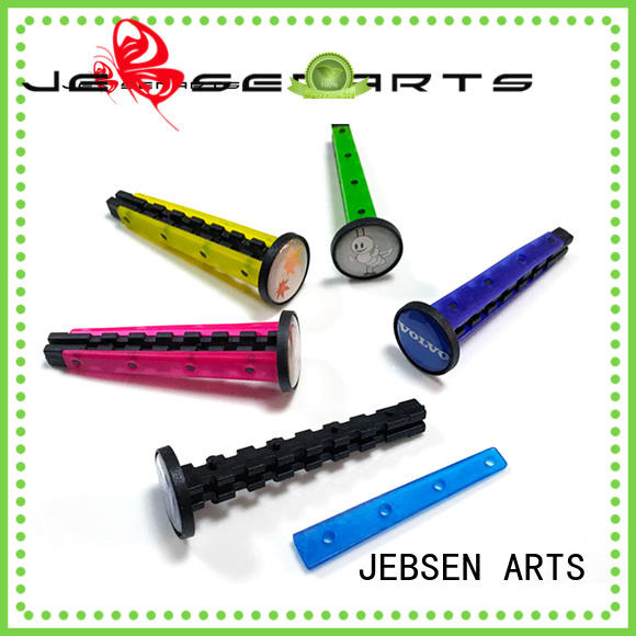 JEBSEN ARTS Brand car plastic round new car scent air freshener