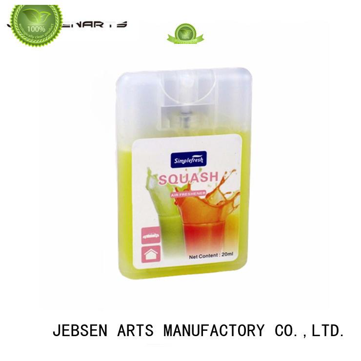 Wholesale spray car air freshener spray JEBSEN ARTS Brand