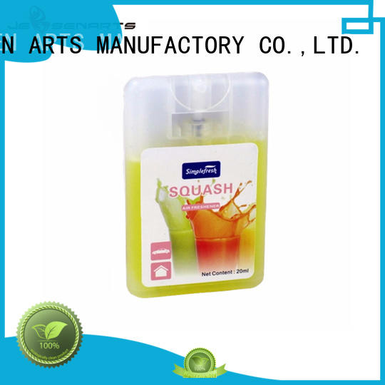 card shape auto air freshener spray Suppliers for restroom