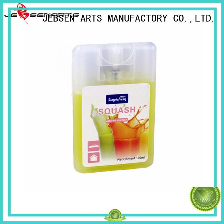 pump freshener JEBSEN ARTS Brand car perfume spray