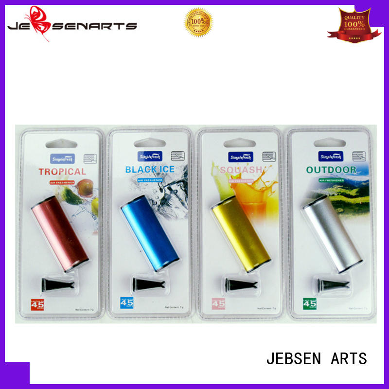 JEBSEN ARTS two metal air freshener ambientador for gift