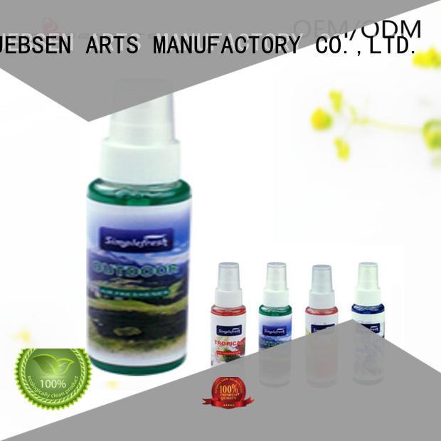 High quality initial car perfume spray pump air freshener spray S01