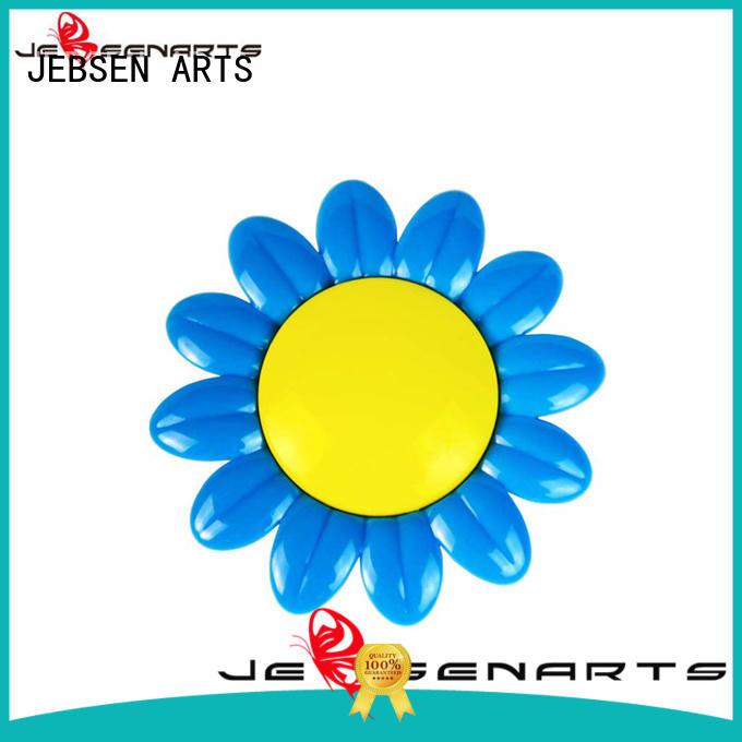 Plastic sunflower shape aroma car perfume vent clip scented vehicle air freshener holder V13
