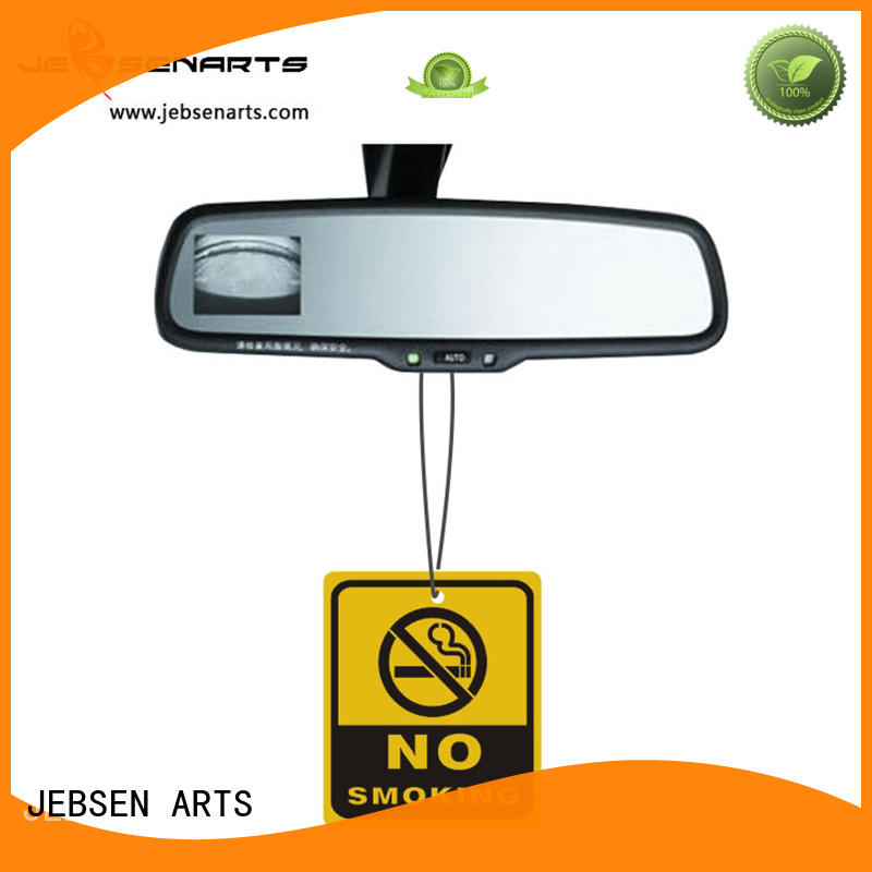 JEBSEN ARTS Brand freshener paper car personalised air freshener manufacture