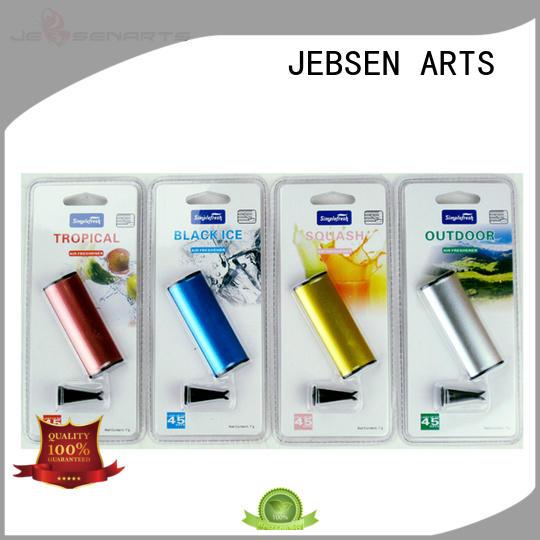 plastic clip scented perfume JEBSEN ARTS Brand car vent air freshener supplier