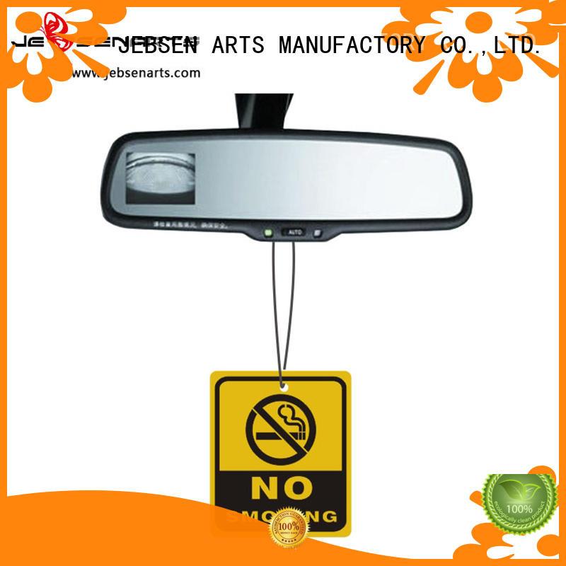 perfume freshener natural paper personalised air freshener JEBSEN ARTS