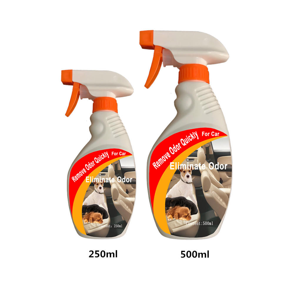 Cigarette smoke pet odor eliminator spray odor remover for car home hotel used