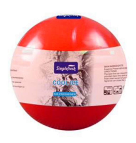 100g Gel air freshener ball