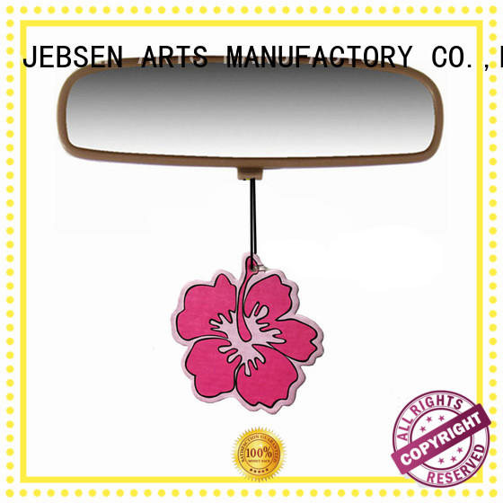 JEBSEN ARTS printed custom car air fresheners supplier for car