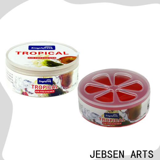JEBSEN ARTS Latest car perfume gel refill for business for restroom