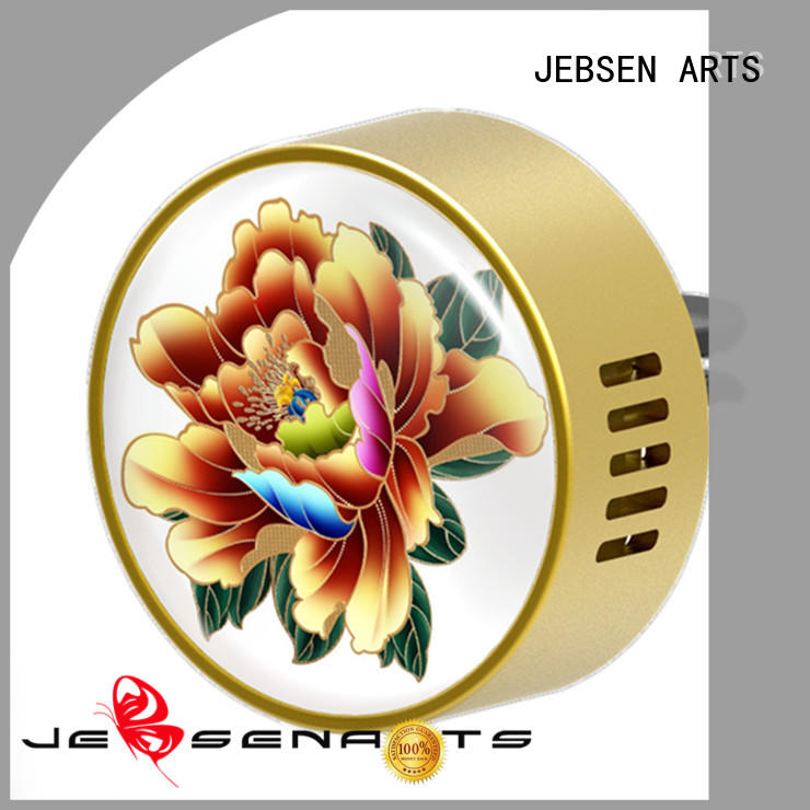 JEBSEN ARTS oil aroma car air freshener metal diffusers for hotel