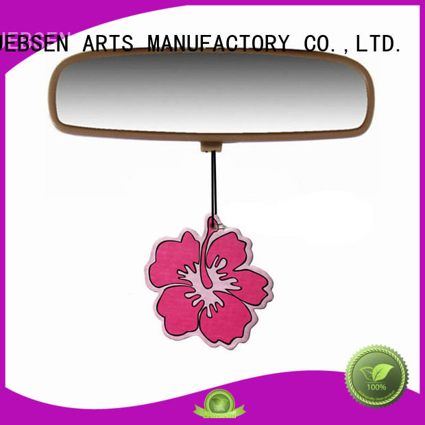 JEBSEN ARTS scented custom car air fresheners manufacturer for car