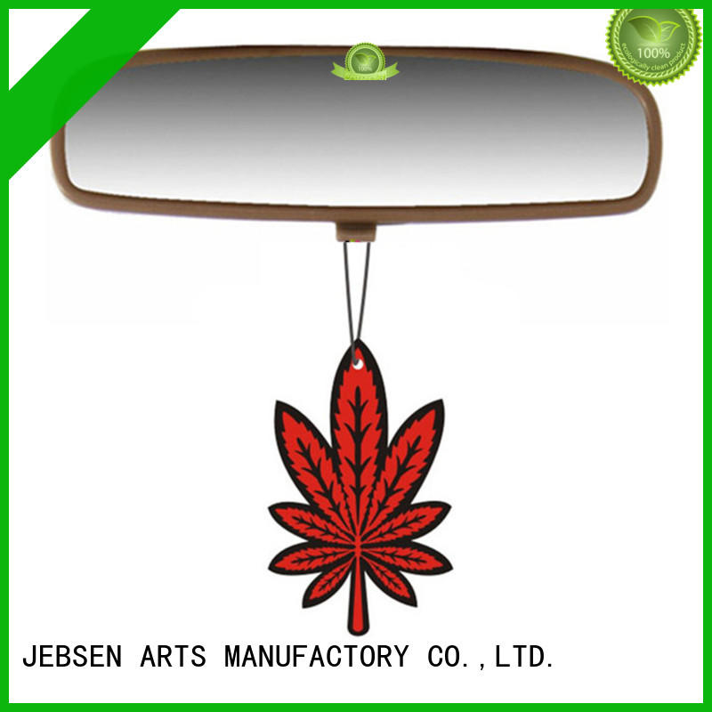 JEBSEN ARTS printed personalised air freshener hot sale for office