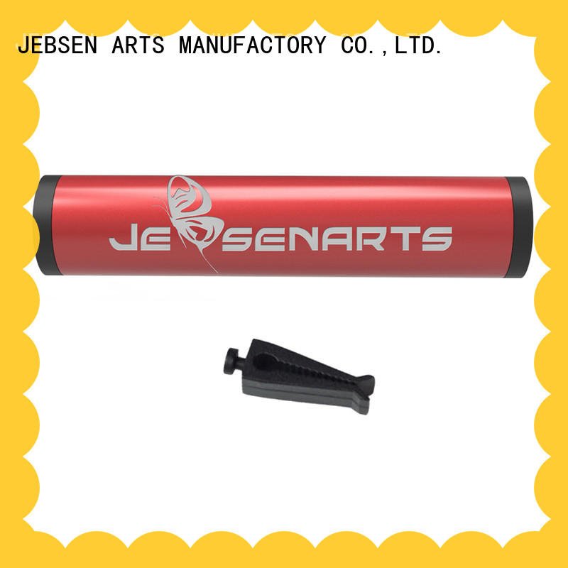 JEBSEN ARTS essential aluminum alloy car air freshener manufacturers for hotel