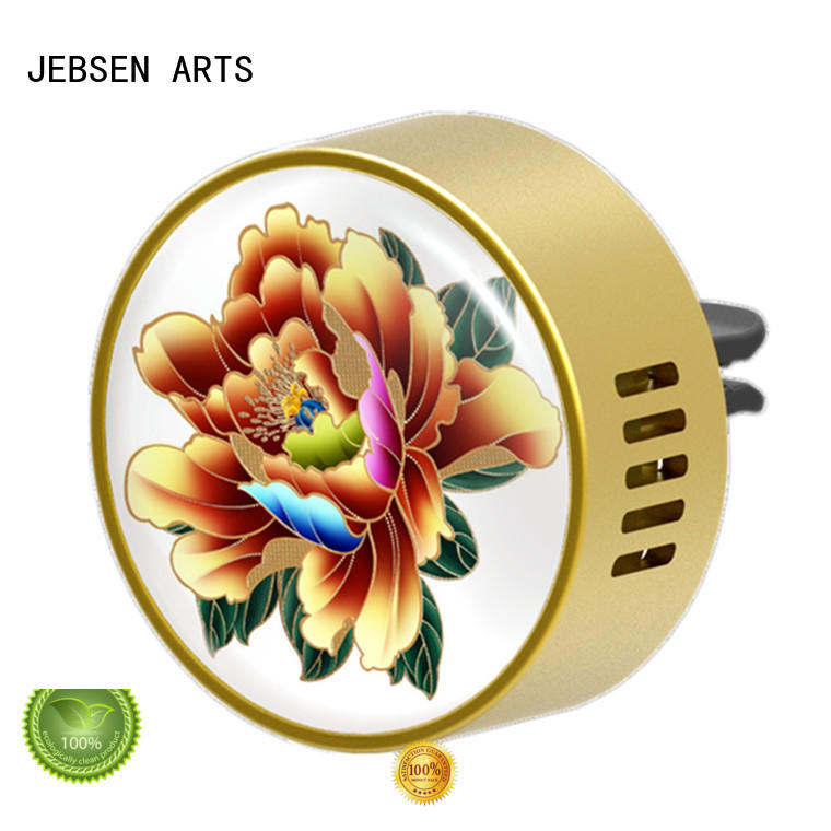 JEBSEN ARTS Wholesale car air freshener vent clip sticker for hotel