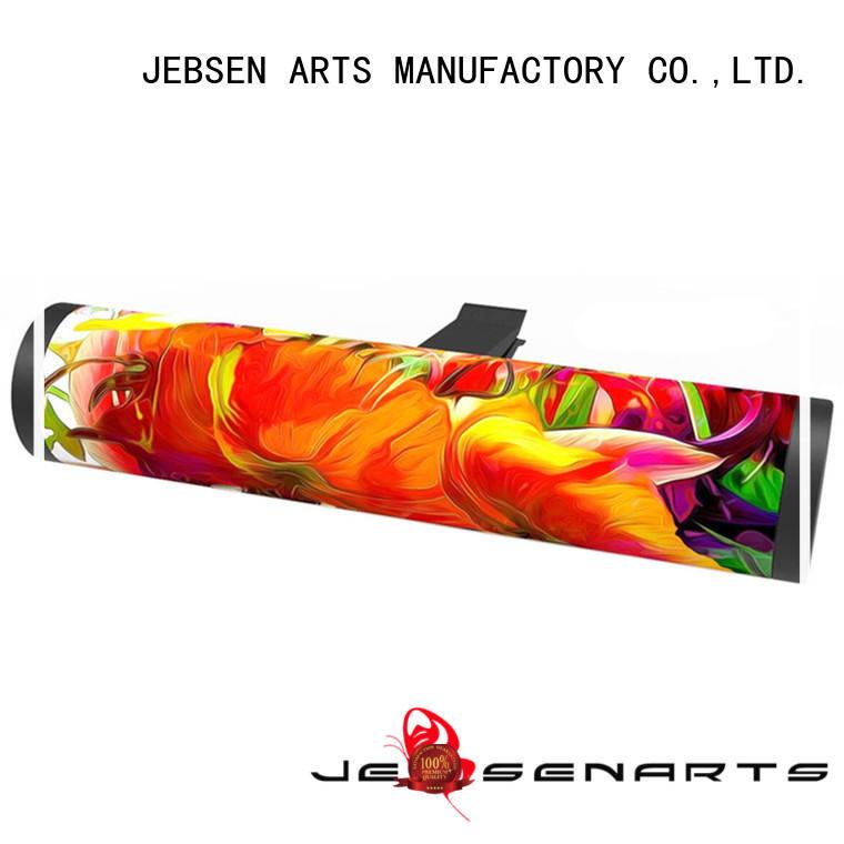 JEBSEN ARTS Custom best selling car air freshener scent ambientador for restroom