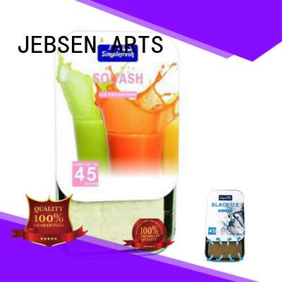 JEBSEN ARTS herbal car air freshener manufacturer for restroom