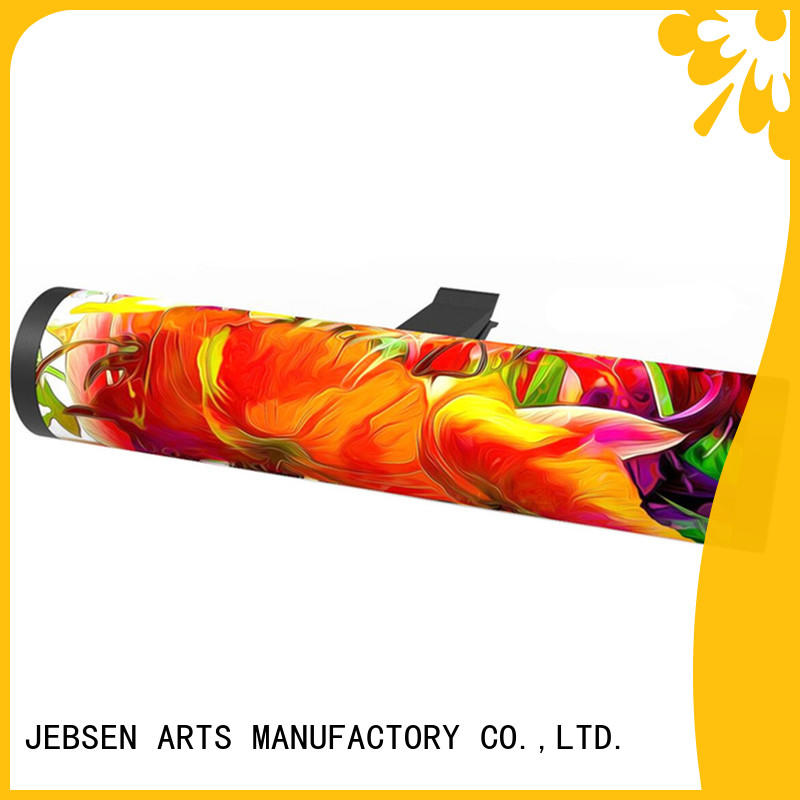 JEBSEN ARTS conditioner car air freshener glass bottle company for dashboard