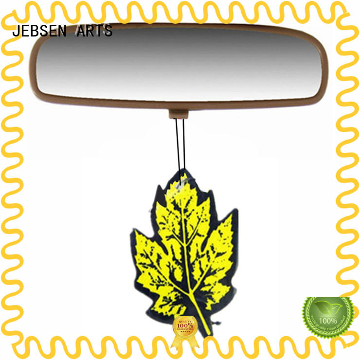 car perfume hanging card for hotel JEBSEN ARTS