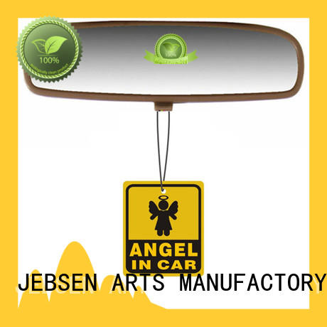 JEBSEN ARTS private label funny car air freshener for office