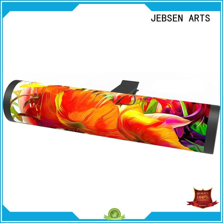 JEBSEN ARTS auto car vent air freshener sticker for restaurant