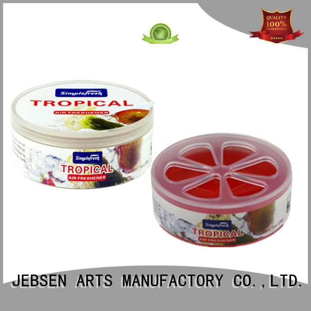 JEBSEN ARTS material gel air freshener supplier for bathroom
