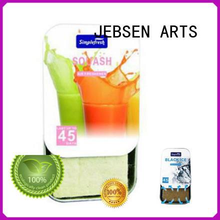 JEBSEN ARTS smell scents car air freshener manufacturer for hotel