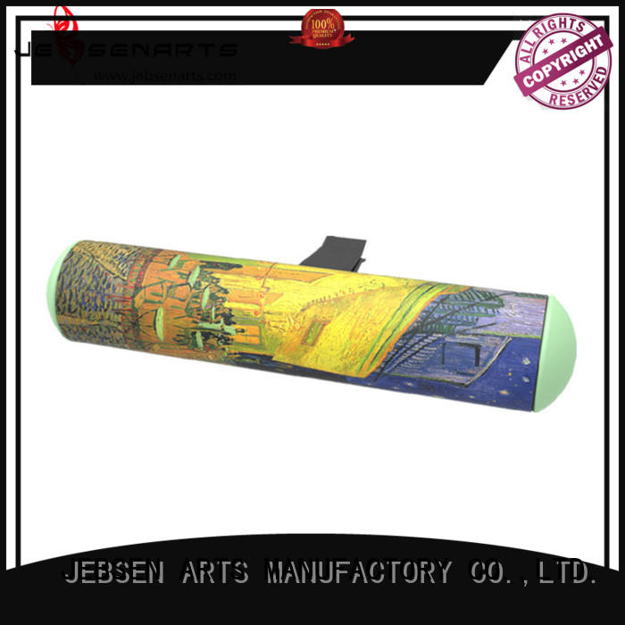 JEBSEN ARTS sunflower car refresher sticker for car